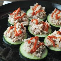 kanapeczki z tuńczykiem