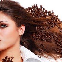 farbowanie włosów kawą