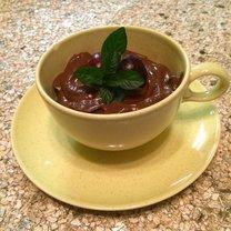 wegański budyń czekoladowy
