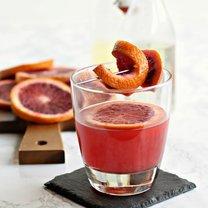 whisky z sokiem pomarańczowym