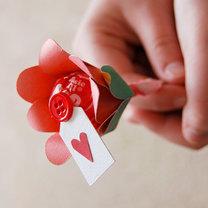 kwiatek z lizaka