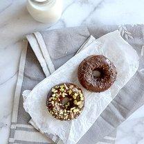 pieczone oponki czekoladowo-kawowe - krok 2