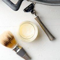 domowy krem do golenia