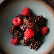 wegański pudding czekoladowy