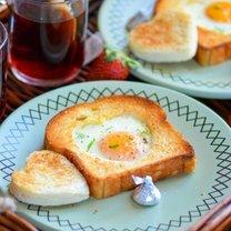 śniadanie na walentynki - krok 2