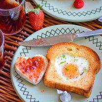 śniadanie na walentynki - krok 3