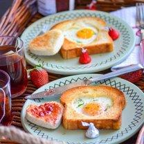 śniadanie na walentynki - krok 4