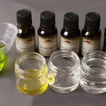 domowy olejek do masażu - krok 1