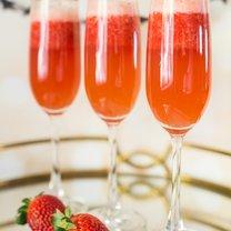 szampan truskawkowy