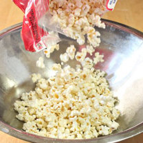 walentynkowy popcorn - krok 1