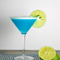 drink blue lady