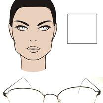 okulary dla twarzy kwadratowej