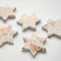gliniane gwiazdki