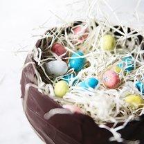 gniazdko z czekolady