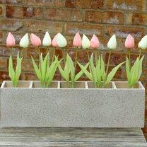 skrzynka na kwiaty ze stojaka