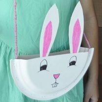 torebka w kształcie królika