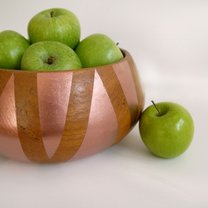 nowoczesna misa na owoce