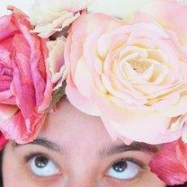 korona z kwiatów