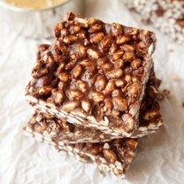 blok ryżowo-czekoladowy
