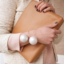 bransoletka z wielkimi perłami