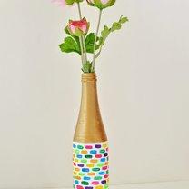 wazon z butelki