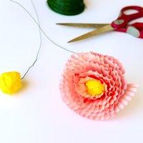 kwiaty z papilotek