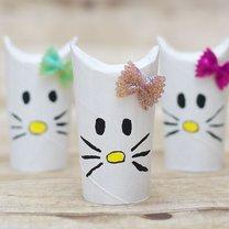 Hello Kitty z papieru