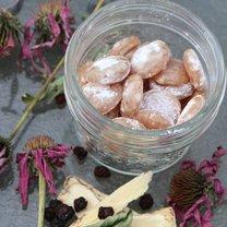 ziołowe cukierki na kaszel
