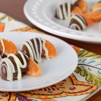 mandarynki w czekoladzie