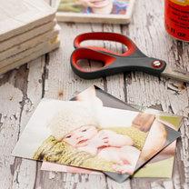 podkładki kafelki ze zdjęciami - krok 1