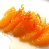 cząstki pomarańczy