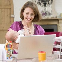mama na urlopie macierzyńskim