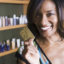kupowanie kosmetyków