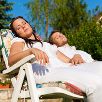 odpoczynek na urlopie