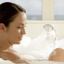 kąpiel w słonej wodzie