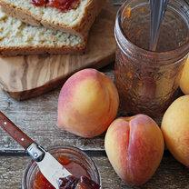 konfitura z brzoskwiń i wiśni