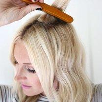 fale na włosach - krok 5
