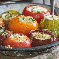 faszerowane pomidory zapiekane