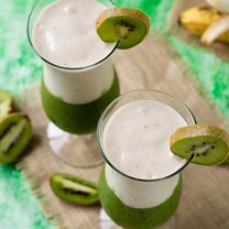 smoothie z kiwi i banana