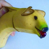 świnka z banana