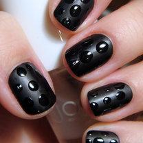 paznokcie w krople