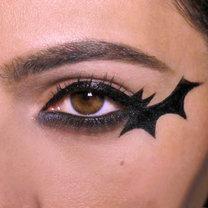 makijaż batman na Halloween