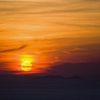 Syndrom zachodzącego słońca