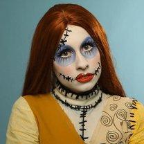 Makijaż upiornej lalki
