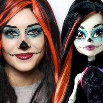 6  przerażających propozycji makijażu na Halloween