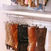 sposoby przechowywania butów - krok 1