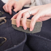 pumeks na zmechacone ubrania