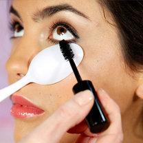 triki kosmetyczne z łyżką - krok 3