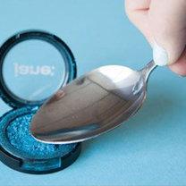 triki kosmetyczne z łyżką - krok 4