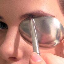 triki kosmetyczne z łyżką - krok 6